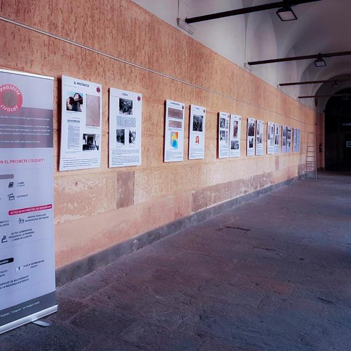 """05 Exposición """"Cisquet i el seu temps"""" en el Hospici d'Olot (febrero 2019)"""