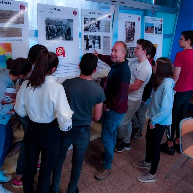09 Charla en el Instituto Olivar Gran de Figueres (febrer 2020)